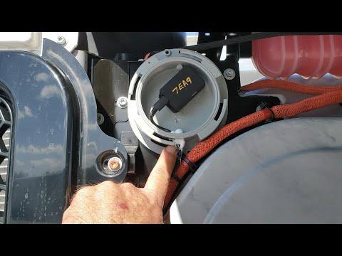 Install Trakkit GPS in Reefer Trailer